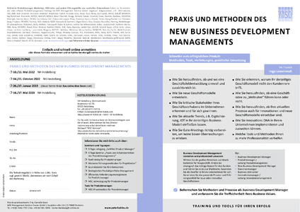 Business Development Management herunterladen