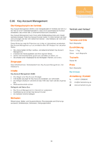 Key Account Management herunterladen