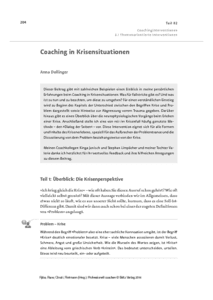 Coaching in Krisensituationen herunterladen