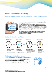 PRINCE2 Foundation eLearning