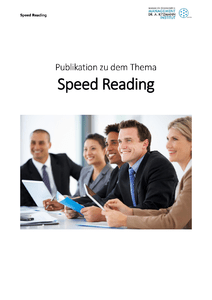Speed Reading herunterladen