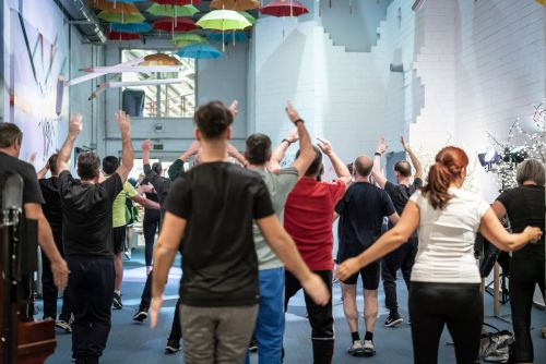 Sport Event im MUT Foyer