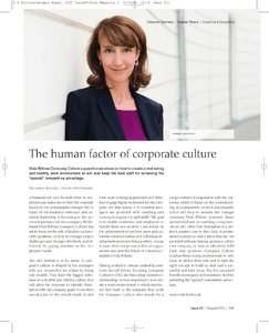 the human factor of corporate culture herunterladen