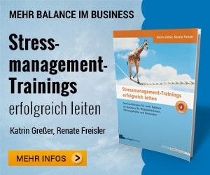 Stressmanagementtrainings